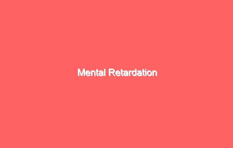 mental retardation 4220